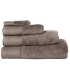 J by Jasper Conran - Grey 'Pima' cotton towels