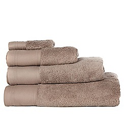 J by Jasper Conran - Beige 'Pima' cotton towels