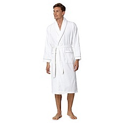 J by Jasper Conran - Designer white hotel luxury dressing gown