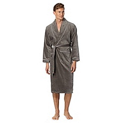 J by Jasper Conran - Designer grey hotel luxury dressing gown