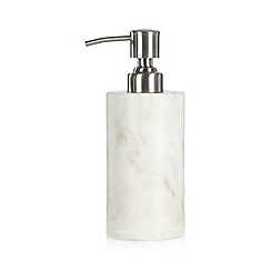 J by Jasper Conran - Designer marble soap dispenser