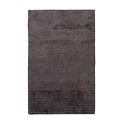 J by Jasper Conran - Designer dark grey bath mat