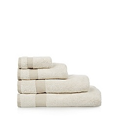J by Jasper Conran - Cream 'Country Modern' cotton towels