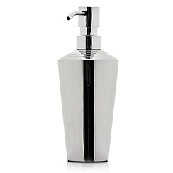 J by Jasper Conran - Silver stainless steel soap dispenser