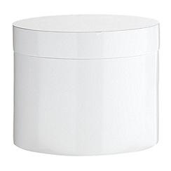 J by Jasper Conran - Designer white storage pot