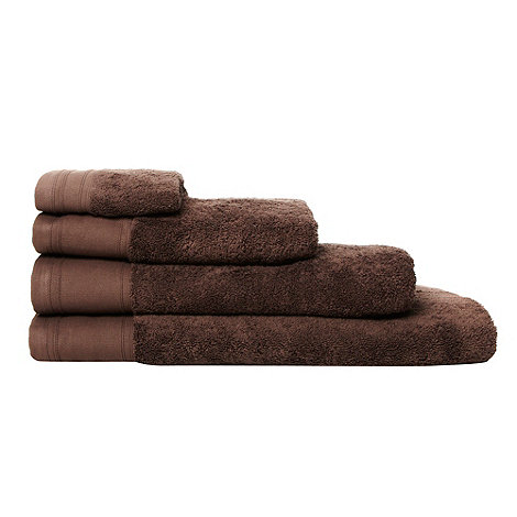 J by Jasper Conran - Brown +Pima+ cotton towels