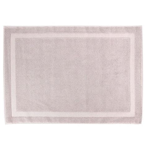J by Jasper Conran - Silver plain cotton bathmat
