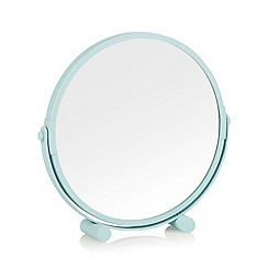 Home Collection Basics - Metal aqua rotating mirror
