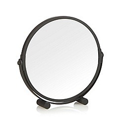 Home Collection Basics - Metal black rotating mirror