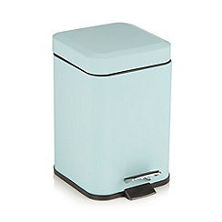 Home Collection Basics - Aqua pedal bin