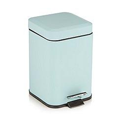 Home Collection Basics - Aqua pedal bin