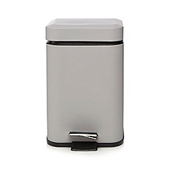 Home Collection Basics - Grey pedal bin