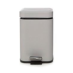 Home Collection Basics - Grey pedal bin