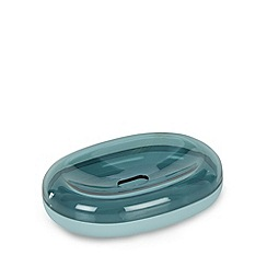 Home Collection Basics - Aqua soft touch soap dish