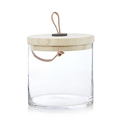 Parlane - Glass plain storage jar