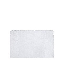 J by Jasper Conran - Designer white luxury cotton bathmat