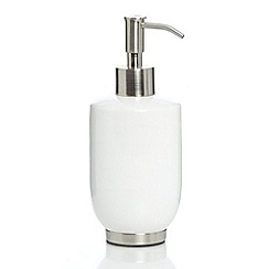 Home Collection - Ceramic soap dispenser