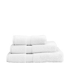 Christy - White 'Sanctuary' Turkish cotton towels
