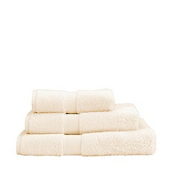 Christy - Cream 'Sanctuary' Turkish cotton towels