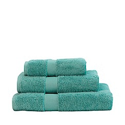 Christy - Teal 'Sanctuary' Turkish cotton towels