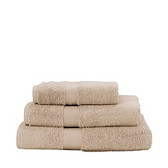 Christy - Beige 'Sanctuary' Turkish cotton towels