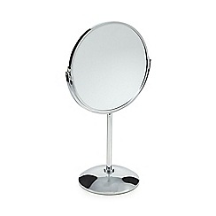 Home Collection - Large pedestal double sided magnified mirror