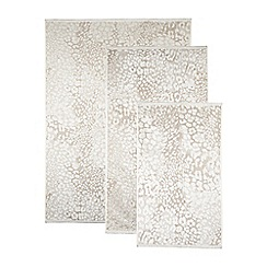 Star by Julien MacDonald - Designer taupe animal print towel