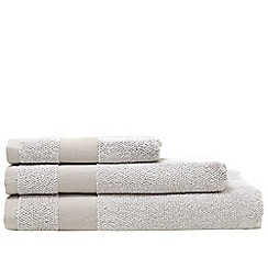 Home Collection - Natural marled border towels
