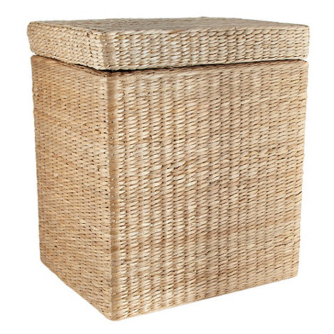 Debenhams - Natural large wicker laundry basket