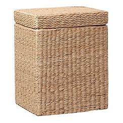 Debenhams - Polyester basket woven laundry bin