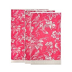 Butterfly Home by Matthew Williamson - Designer pink floral towel