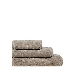 J by Jasper Conran - Natural coloured 'Greenwich' cotton towels