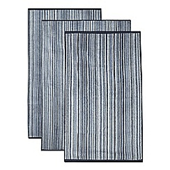 J by Jasper Conran - Blue bath towel