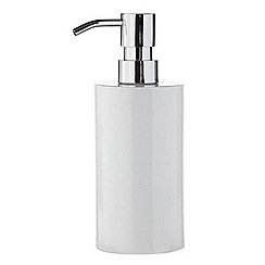 J by Jasper Conran - Designer white soap dispenser