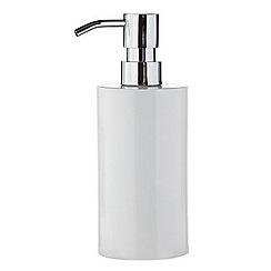 J by Jasper Conran - Designer white soap dispenser