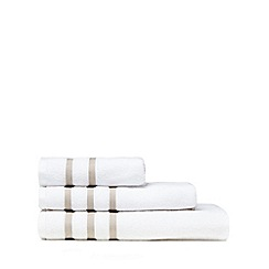 Christy - Natural striped towel