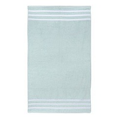 Christy - Aqua striped towel
