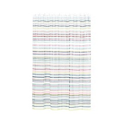 Ben de Lisi Home - Multicoloured striped shower curtain