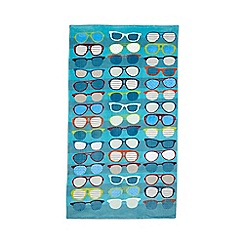 Ben de Lisi Home - Aqua sunglasses beach towel