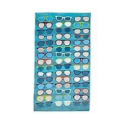 Ben De Lisi - Aqua sunglasses towel