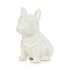 Ben de Lisi Home - White dog toothbrush holder