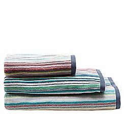 Ben de Lisi Home - Grey striped towel