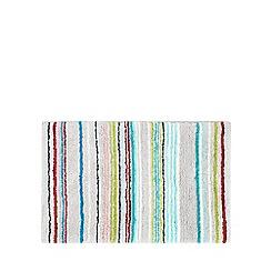 Ben de Lisi Home - Grey striped bath mat