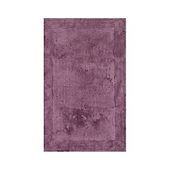 Home Collection - Mauve cotton tufted bath mat