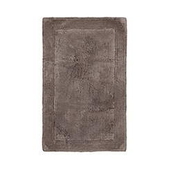 Home Collection - Grey cotton tufted bath mat