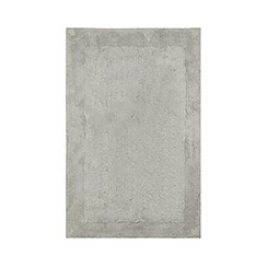 Home Collection - Light grey cotton tufted bath mat