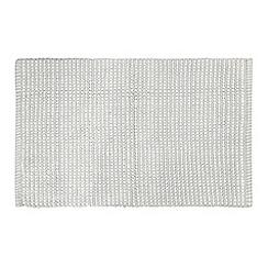 J by Jasper Conran - Silver pom pom bath mat