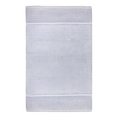 J by Jasper Conran - Light blue cotton bath mat