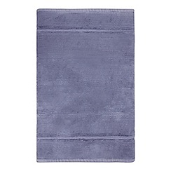 J by Jasper Conran - Dark blue cotton bath mat