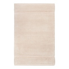 J by Jasper Conran - Dark extra large taupe cotton bath mat